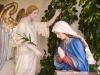 Gruppo ligneo della Madonna e dell'Angelo, opera pregevole di scultori della Val Gardena