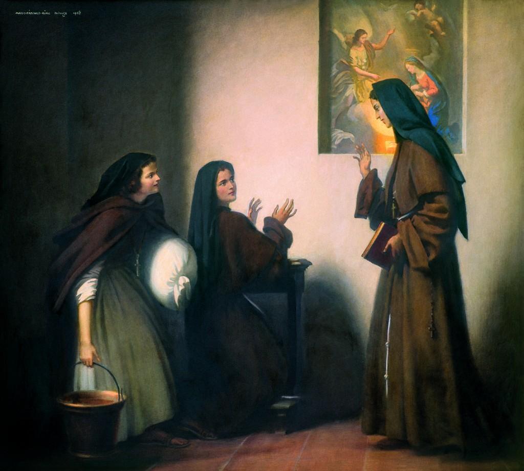 Le tre fondatrici